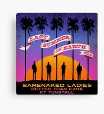 Barenaked Ladies letzten Sommer 2018 Tour Gembira Leinwanddruck