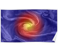 Quot Blue Velvet Abstract Art Products Design Quot Throw