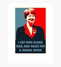Prime Ministerial Propaganda Photographic Print