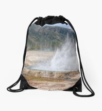 Black Sand Basin Drawstring Bag