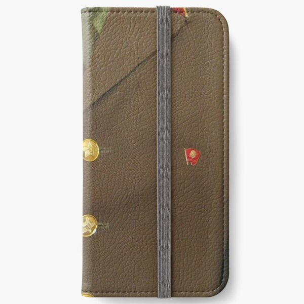 Soldier form of the Soviet Army iPhone Wallet