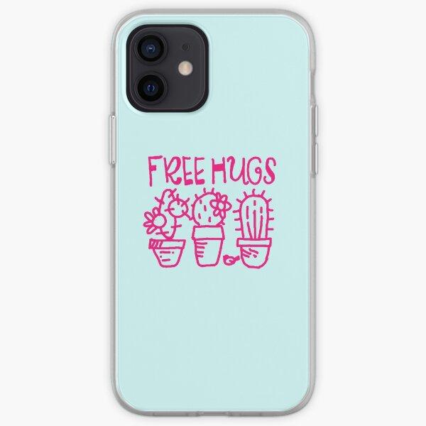 Free hugs my love iPhone Soft Case