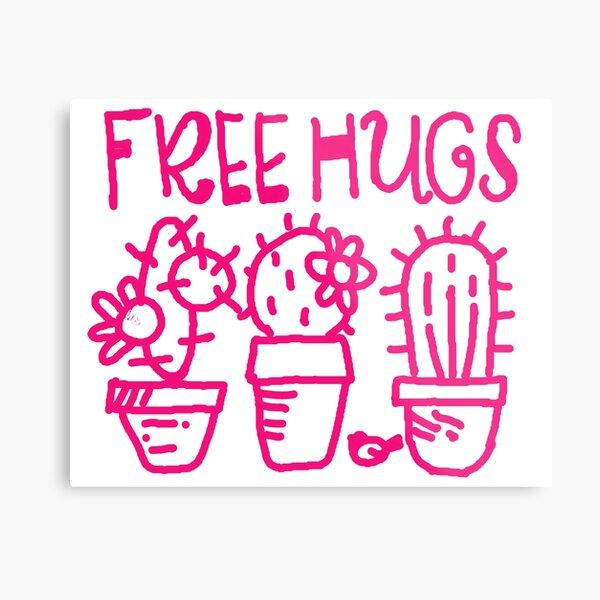 Free hugs my love Metal Print