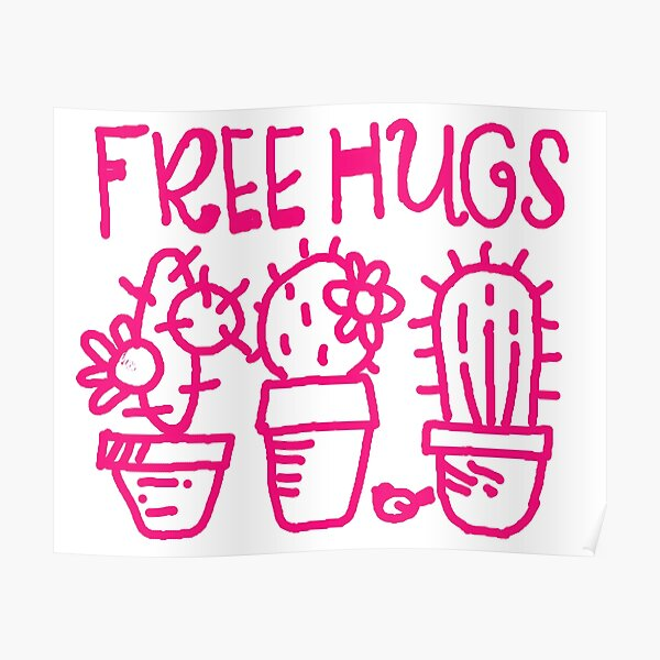 Free hugs my love Poster