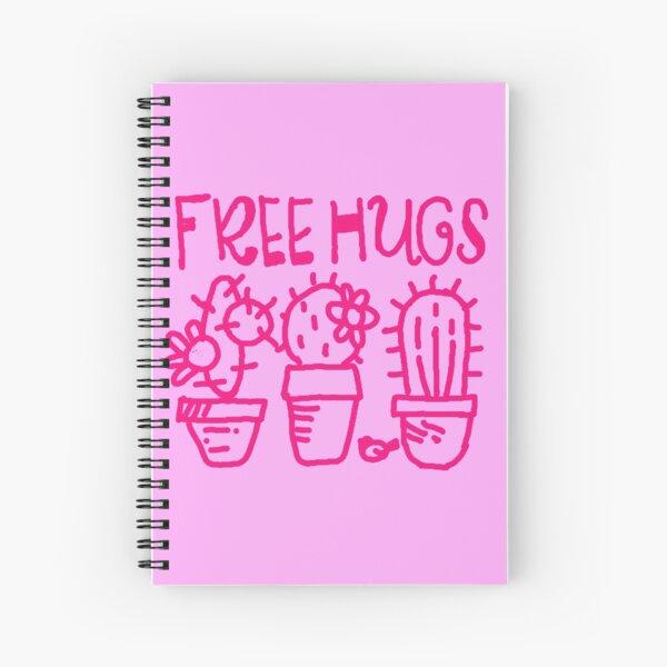 Free hugs my love Spiral Notebook
