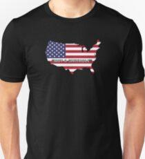 """USA- """"Not a Shithole"""" Unisex T-Shirt"""