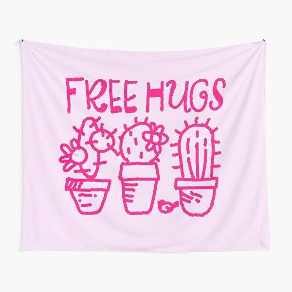 Free hugs my love Tapestry