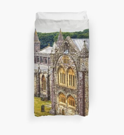 St David's Cathedral Duvet Cover