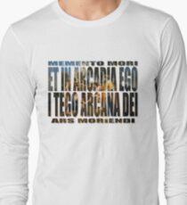 ET IN ARCADIA EGO - I TEGO ARCANA DEI Long Sleeve T-Shirt