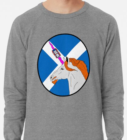 The Ginger Unicorn Lightweight Sweatshirt