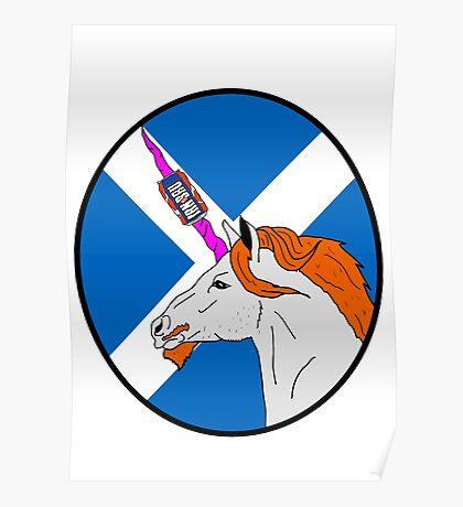 The Ginger Unicorn Poster