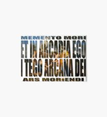 ET IN ARCADIA EGO - I TEGO ARCANA DEI Art Board