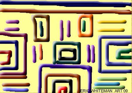 (FACE) ERIC WHITEMAN ART by eric  whiteman