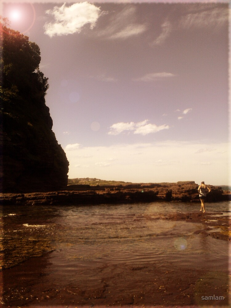 Kiama Cliff by samiam