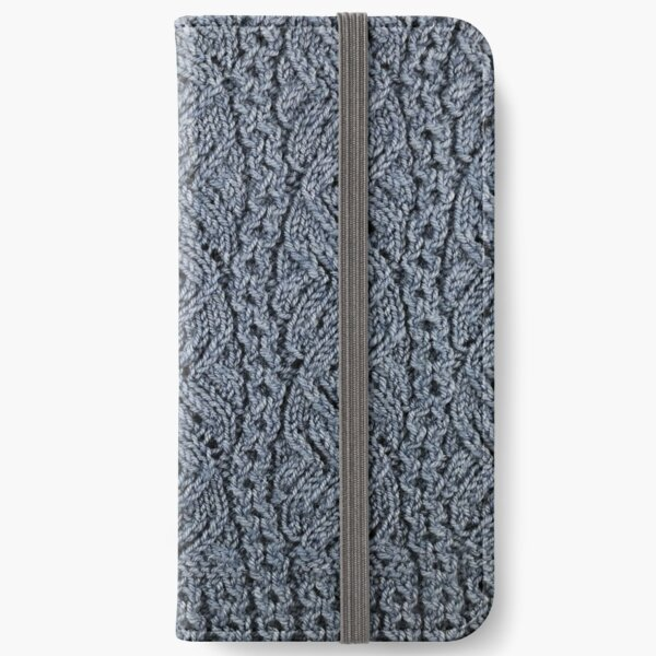 Lacey Curves - Denim iPhone Wallet