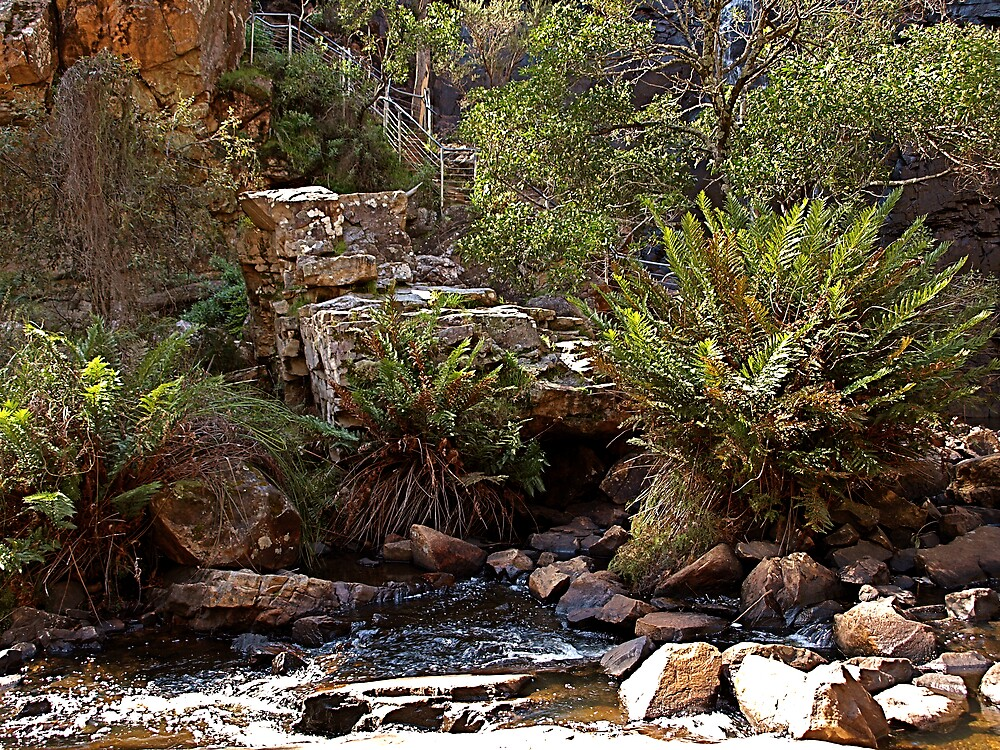 McKenzie Falls - Grampian Ranges by archieswell