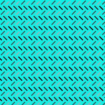 Rectángulos de Wonky (azul) de DanaAndTheBooks