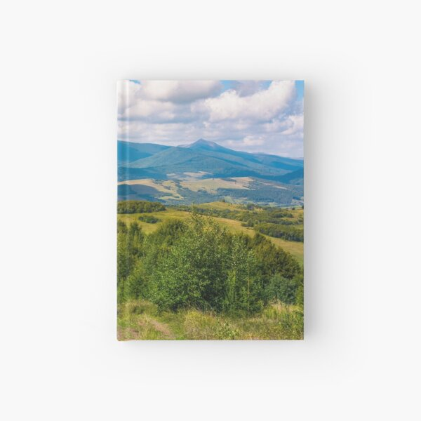 beautiful countryside of Crapathians  Hardcover Journal