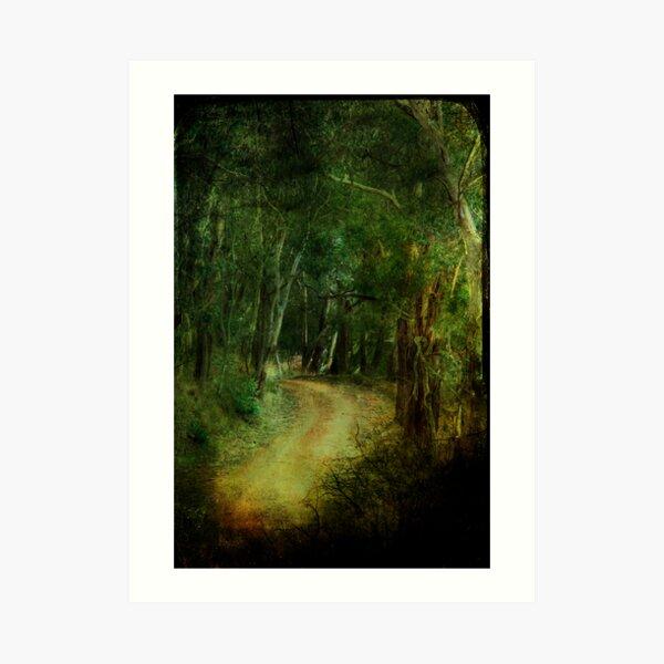 The Road of Neverland Art Print