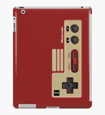 Retro Classic vintage Red Gold game controller iPad Case/Skin