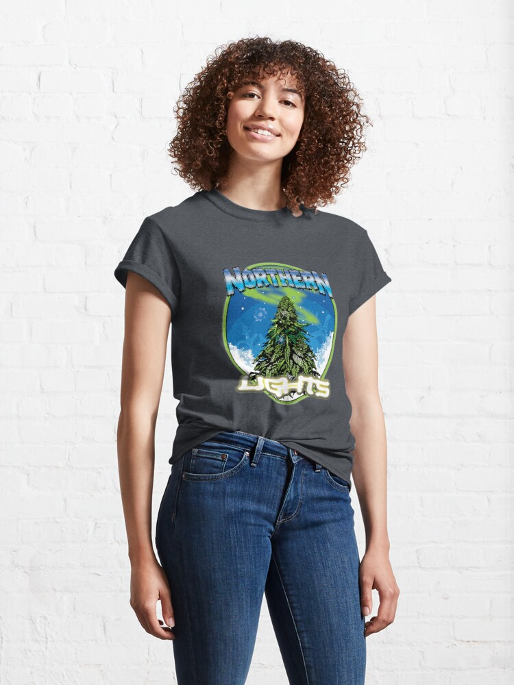 Alternate view of Northren Lights  Classic T-Shirt