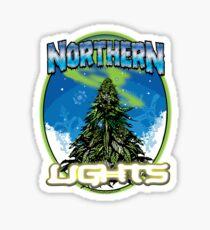 Luces de Northren Pegatina