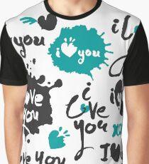 Love Letterings Set Graphic T-Shirt