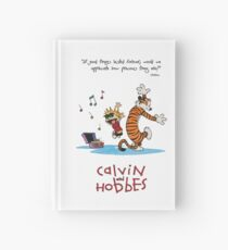 Calvin and Hobbes Dancing Hardcover Journal