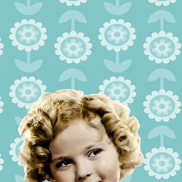 Shirley Temple Teal by AtticSalt