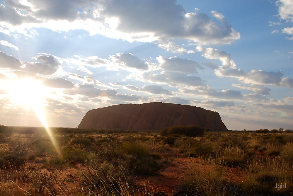 Ayers Rock by Jgirl