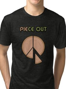Piece Out Man Tri-blend T-Shirt