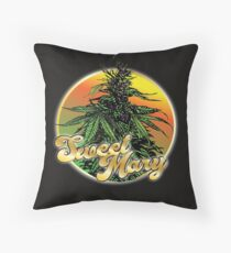 Sweet Mary  Throw Pillow