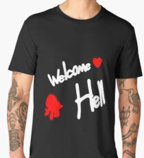 Welcome To Hell Men's Premium T-Shirt