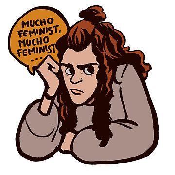 Mucho feminist… by bispau