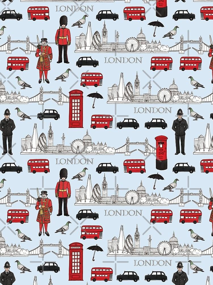 London Skyline and Icons by HazelFisher