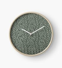 Lacey Curves - Sage Clock