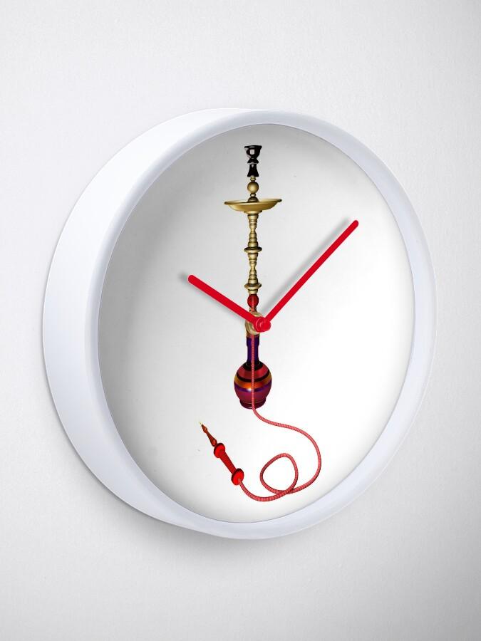 Alternate view of Hookah 3D render - side view Clock