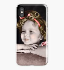 Shirley Temple in Red iPhone Case/Skin