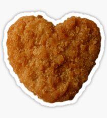 Heart Nugget Sticker