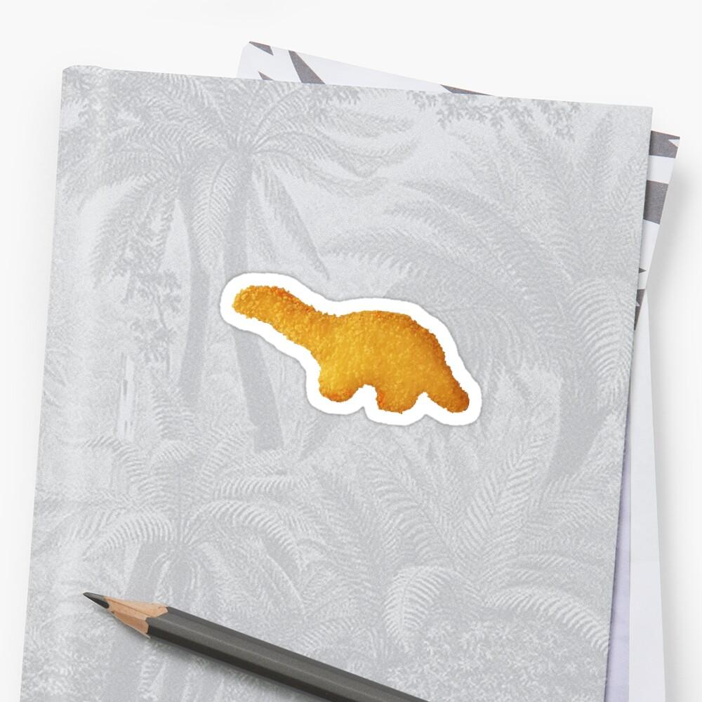 Dino-Nugget Sticker