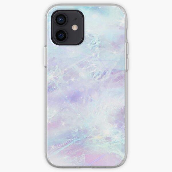 Rose Quartz Pastel Crystal Print iPhone Soft Case