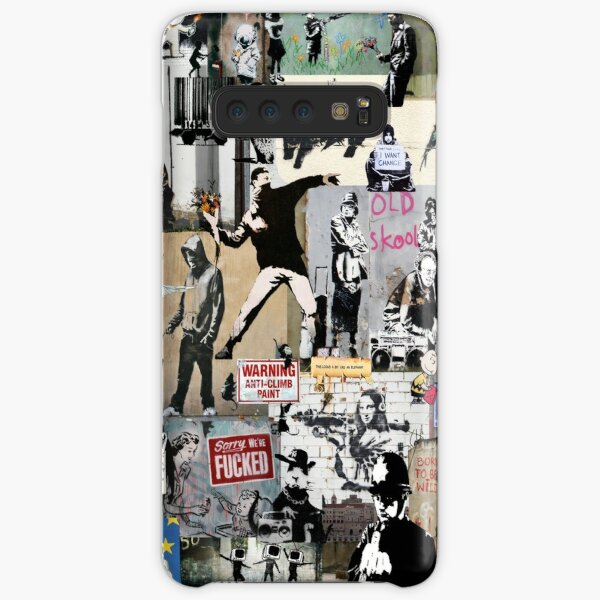 Banksy Collage Samsung Galaxy Snap Case