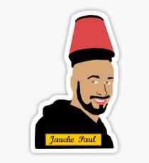 Jauchus Paulus, the walking preacher Sticker