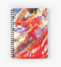 Flamenco Dancer Spiral Notebook