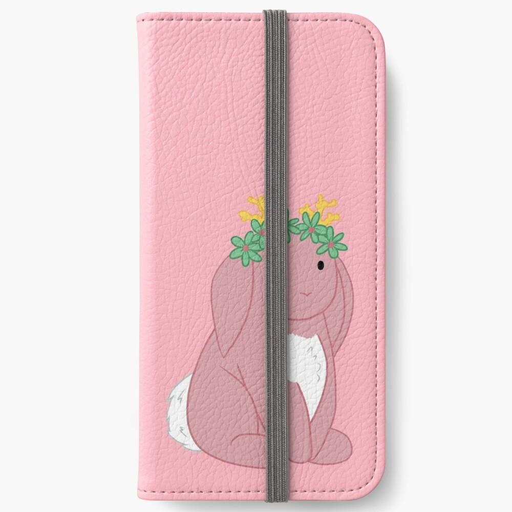 Pink Spring Festival Jackalope iPhone Wallet