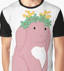 Pink Spring Festival Jackalope Graphic T-Shirt