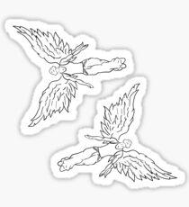machine gun kelly-  angel Sticker