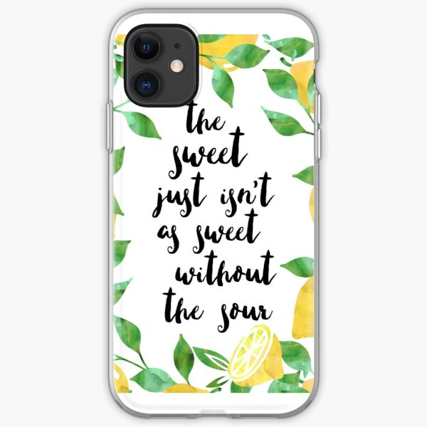 Sweet and Sour iPhone Soft Case