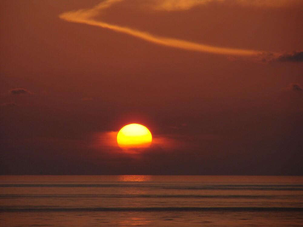 Mars or Sun? by richard dailey