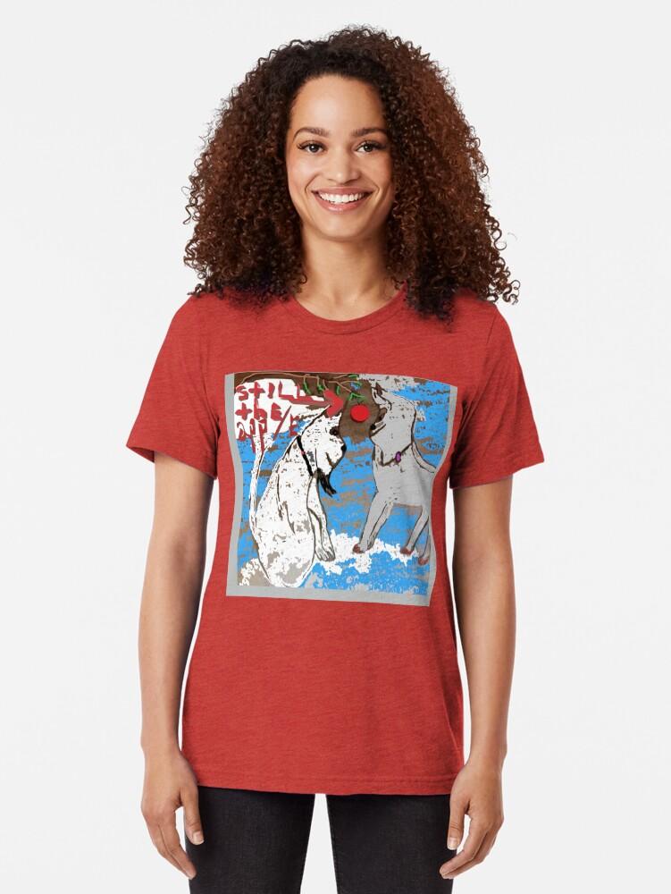 Vista alternativa de Camiseta de tejido mixto FANNIE